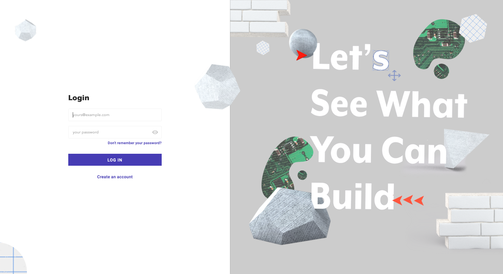 Controller login page